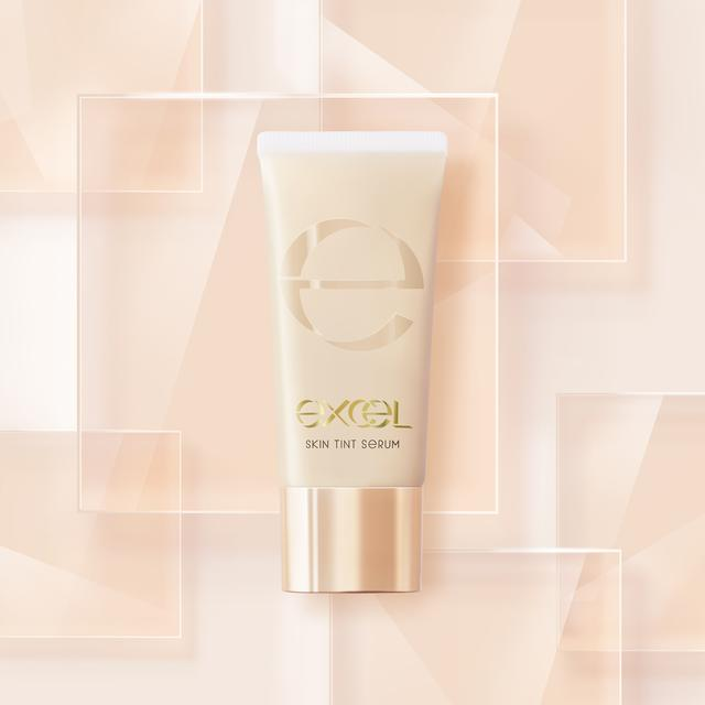 画像1: メイクアップブランド『エクセル』から 美容液81%のスキンケア感覚 「セラムファンデーション」発売