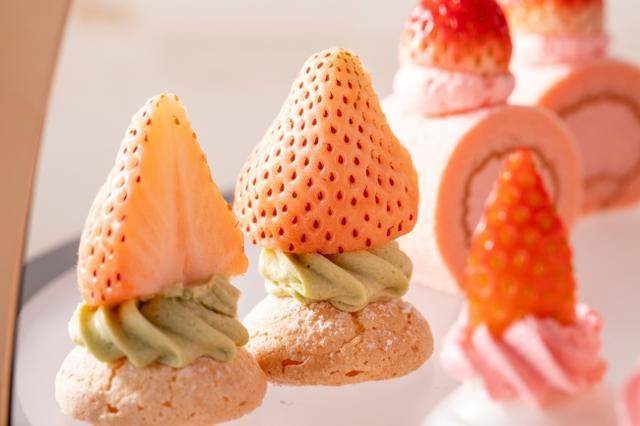画像2: イチゴとメープルシロップのとろける出会い「イチゴとメープルのアフタヌーンティー」