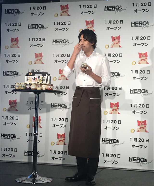 画像: この日は、イメージキャラクターの三浦翔平さんも駆けつけて、贅沢ティラミスの美味しさをアピール!