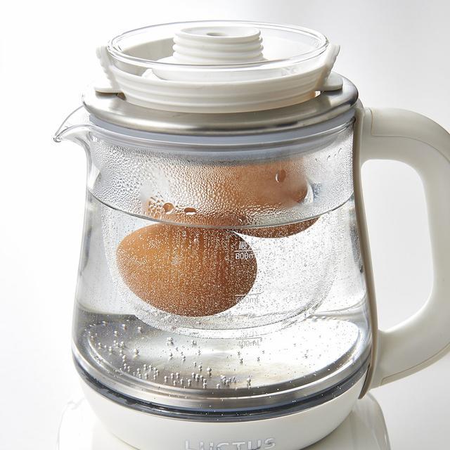 画像3: 湯沸かしだけじゃない!調理もできる電気ケトルが登場