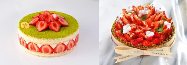 画像3: パンケーキやパフェもあまおう尽くし!