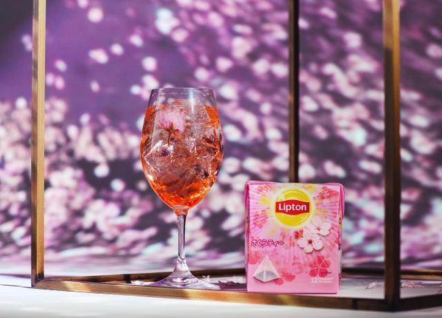 画像5: 【Lipton×FLOWERS BY NAKED】日本一早いお花見に、リプトンの限定さくらドリンクが登場