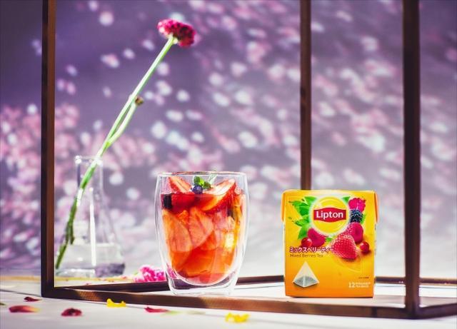 画像9: 【Lipton×FLOWERS BY NAKED】日本一早いお花見に、リプトンの限定さくらドリンクが登場