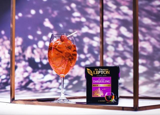 画像7: 【Lipton×FLOWERS BY NAKED】日本一早いお花見に、リプトンの限定さくらドリンクが登場