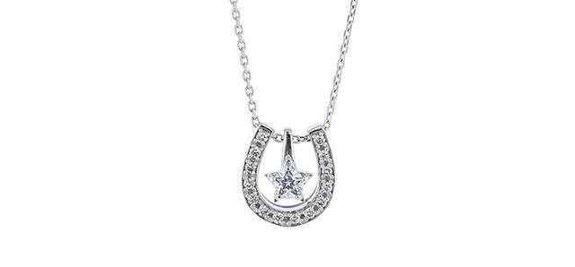 画像: Pt900/850 Wish upon a star ダイヤモンド ネックレス|festaria bijou SOPHIA Online Shop