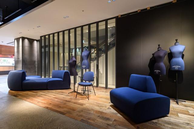 画像: 岡山デニムを使用した別注家具