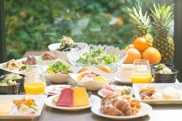画像: 「ヘルシー・ビューティー・フレッシュ」がコンセプトの フルブッフェスタイル朝食