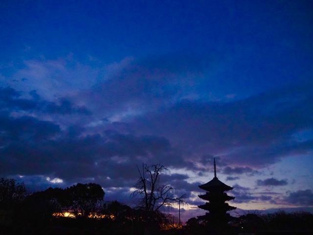 画像: 世界遺産「東寺」早朝特別拝観は、冬は空気が澄んでいるのでとても気持ちが良かったです…。