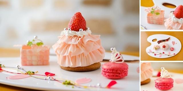 画像: 春をイメージさせるピンクを基調に、甘酸っぱいいちごに甘さ控えめのホワイトチョコが絶妙な味わいを演出します。