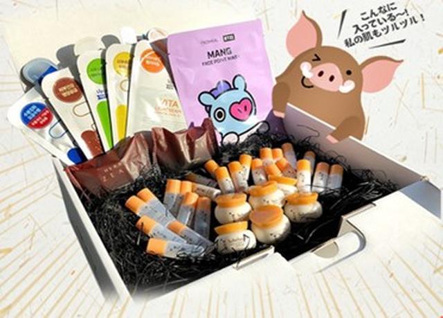 画像2: 漢方コスメで運気アップ!?1月「BEAUTY BOX」は、韓国コスメ40個セットでなんと3,000円