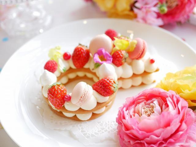 画像2: 指輪ケーキ1800円(税込)