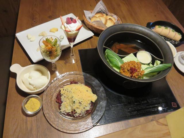 画像1: 六本木店限定! 温野菜ならではの、冬のチーズ鍋コース料理「カスタマイズ チーズ鍋」
