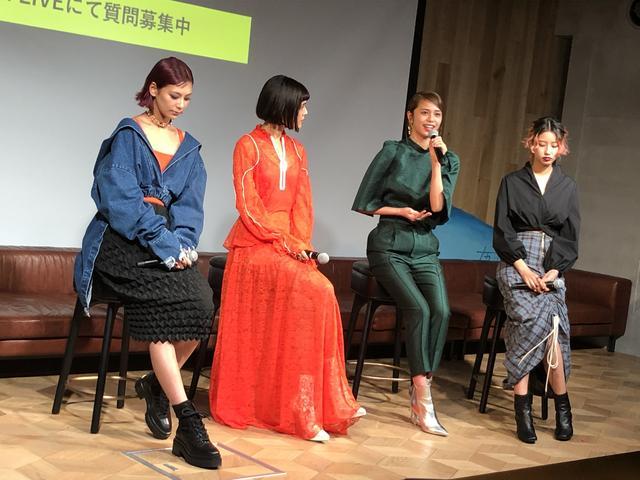 画像2: 西内まりやさんや佐藤晴美さんのトークショー開催!