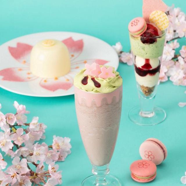 画像1: リンツ ショコラ カフェ、春限定の桜メニューが続々登場!