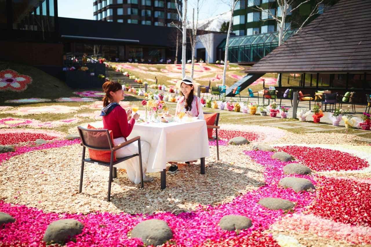 画像4: 1日中花に囲まれて過ごせる宿泊プラン「花咲くステイ」