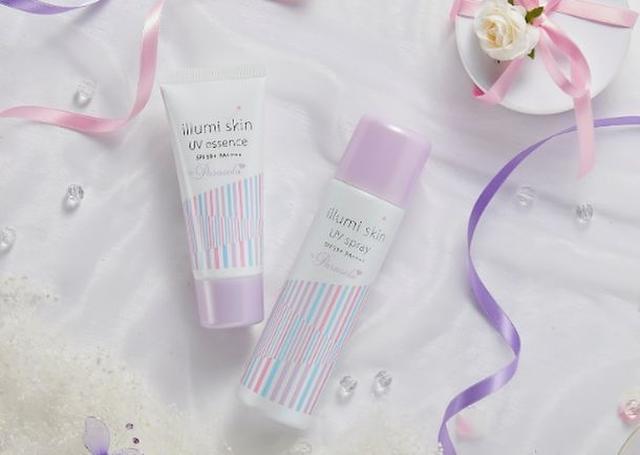 画像1: 女の子をかわいくする日焼け止めブランド「Parasola」から 瞬間白肌UV製品「イルミスキン」リニューアル!