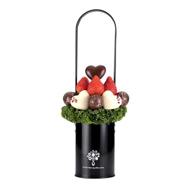 画像3: バレンタインにおすすめ! チョコとフルーツをおしゃれに融合した 「フルーツブーケ(R)」