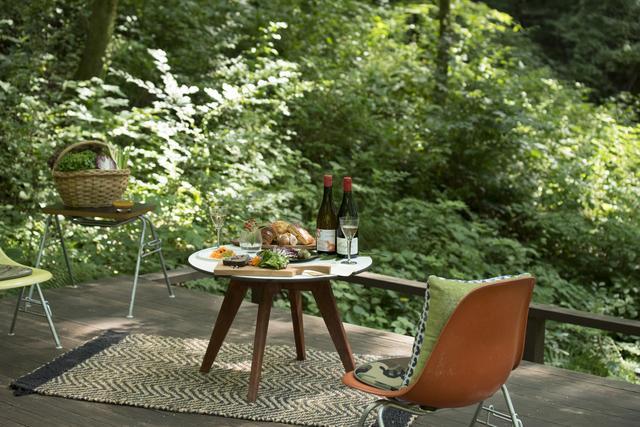 画像2: 【軽井沢星野エリア ハルニレテラス】軽井沢の森のテラスで味わうワインと食事 「森のプライベートワインランチ」