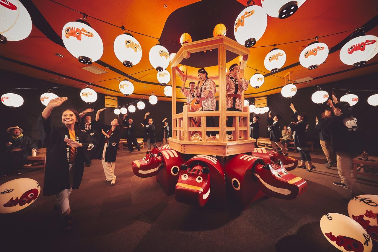 画像1: 【星野リゾート 磐梯山温泉ホテル】会津の祭りを体験するイベント「あいばせ!踊らんしょ」を開催