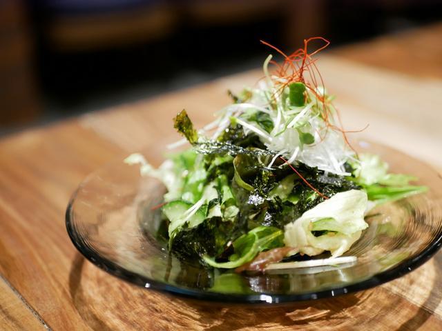 画像: 韓国海苔たっぷりチョレギサラダ
