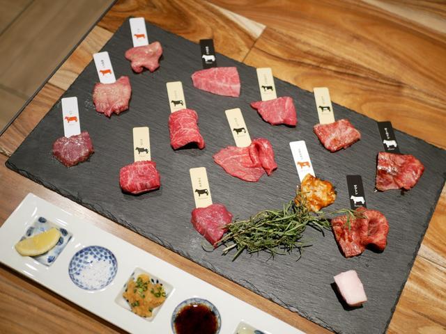画像: 13種類の熟成肉が楽しめる希少コース
