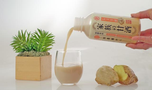 画像2: かぜ・インフルエンザ予防に役立つ、 新商品「家族の甘酒 しょうが入り」