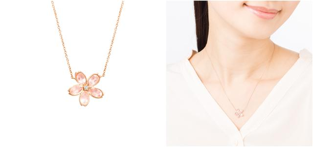 画像: K10PG/Rose Quartz Necklace ¥34,000+Tax
