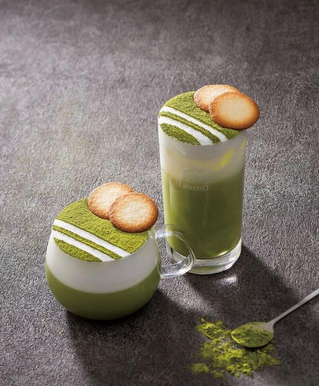 画像: 抹茶ラングドシャからインスパイアされた リッチな味わいの『抹茶ラングドシャラテ』
