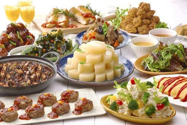 画像: 旬の食材を使用した彩り豊かなビュッフェメニューが登場!