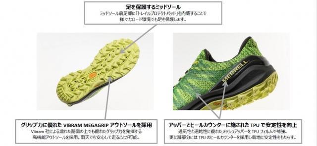 画像2: 【メレル】トレイルランニングシューズに新モデルが登場!