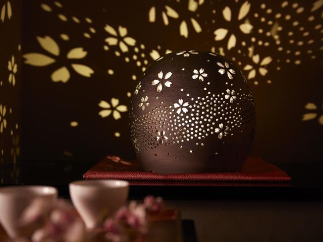 画像: 界 津軽(青森県・大鰐温泉) 桜色に染まる「津軽四季の水庭」誕生