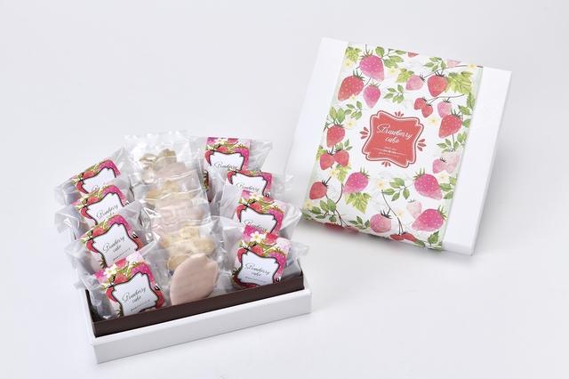 画像2: 「春のお祝いギフト」におすすめ!アニバーサリーのいちご×桜を使った3つの人気焼菓子