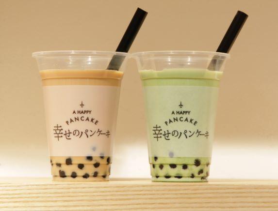 画像1: 『幸せのパンケーキ』より「生タピオカドリンク」テイクアウトカップ限定販売開始!