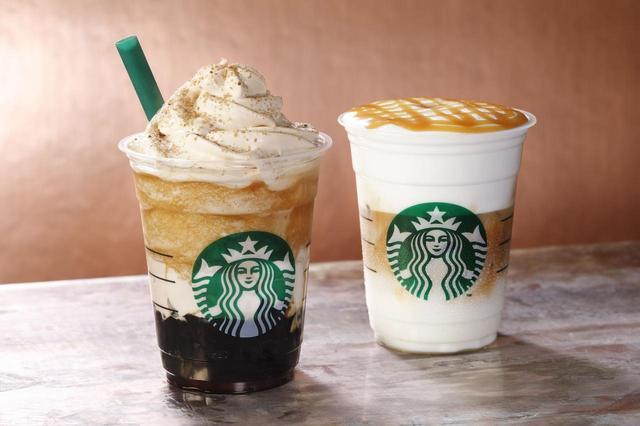 画像1: 【スターバックス】『クラフテッド コーヒー ジェリー フラペチーノ(R)』『ムース フォーム キャラメル マキアート』が新発売!