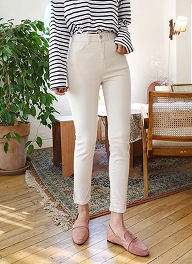 画像: [DHOLIC] スリットヘムパンツ・全5色パンツ・ズボンパンツ・ズボン レディースファッション通販 DHOLICディーホリック [ファストファッション 水着 ワンピース]