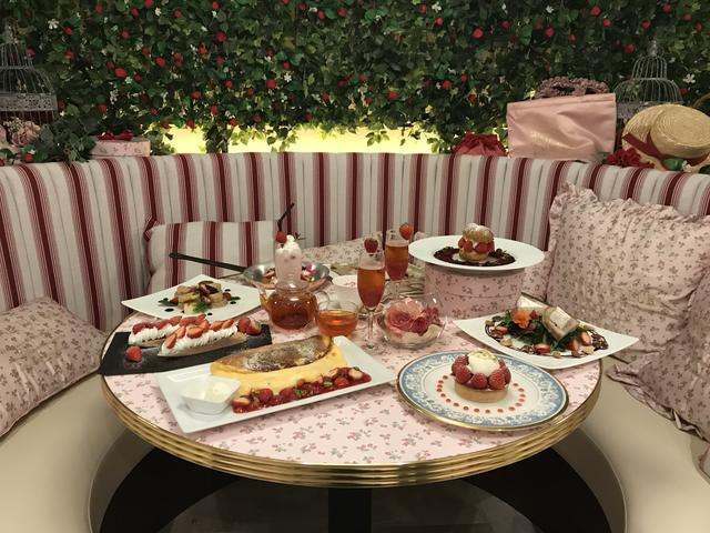 画像1: 【試食レポ】期間限定!苺まみれのCafé Maison de FLEUR –Strawberry Party-
