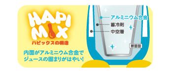 画像2: 簡単にフローズンが楽しめるHAPI MIX(ハピックス)がリニューアル