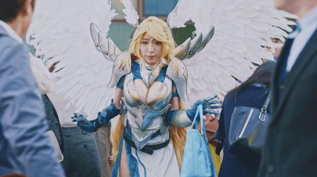 画像1: エイチームWeb CM『コスプレ出社#cosplay』が公開1週間でエイチーム史上最高の70万回再生を突破!