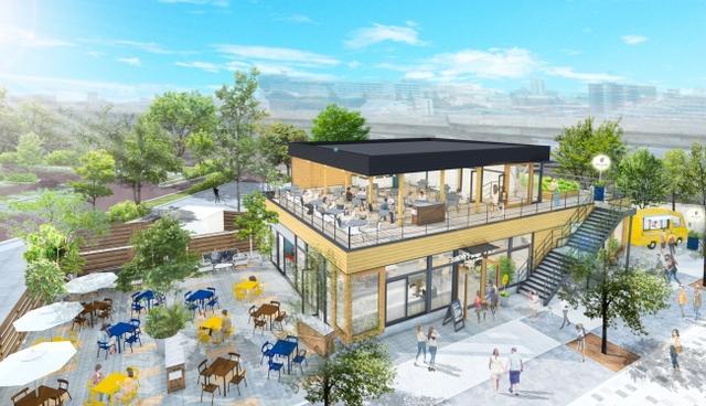 画像1: 高槻市の街中に誕生する巨大な遺跡公園の中、自家菜園を持つ一軒家ピッツェリア&カフェ「SUNDAY'S BAKE 569」