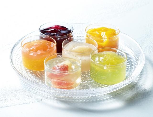 画像1: 【パティスリー キハチ】マンゴー、パイン、桃、キウイなどカラフルでみずみずしいフルーツをぎゅっと詰めた「フルーツポンチ」3種
