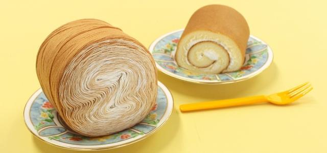 画像1: 見た目も軽さも『ロールケーキ』とほぼ同じ!?「ウイスターミックスロール」初の春夏毛糸が登場!