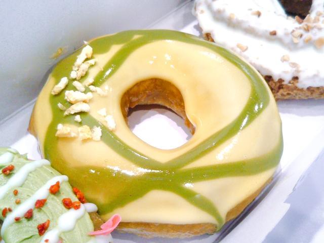 画像2: 【試食レポ】クリスピー・クリーム・ドーナツから「和茶ドーナツ」が登場
