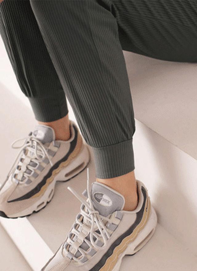 画像: [DHOLIC] リブジョガーパンツ・全3色|レディースファッション通販 DHOLICディーホリック [ファストファッション 水着 ワンピース]