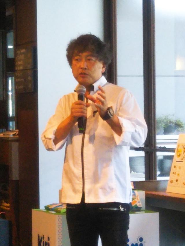 画像1: 【イベントレポ】今年も開催!小山シェフとコラボしたKiri® Café開催中!