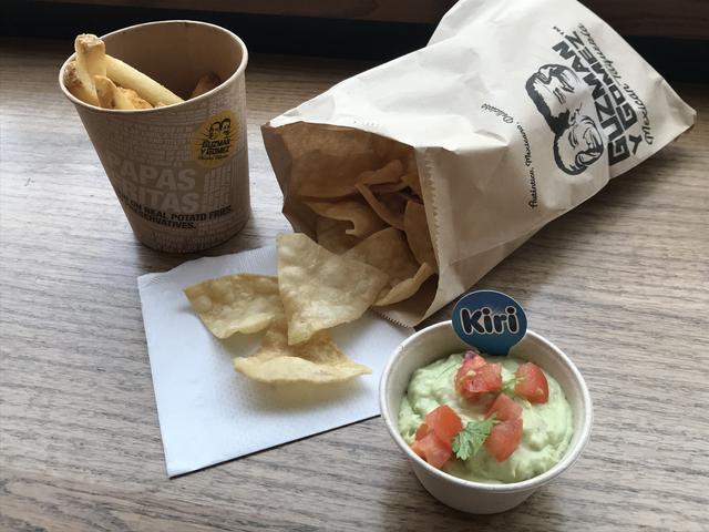 画像: 「クリームチーズワカモレ単品」¥250(税込)「ポテトセット」¥550(税込) 「チップスセット」¥550(税込)