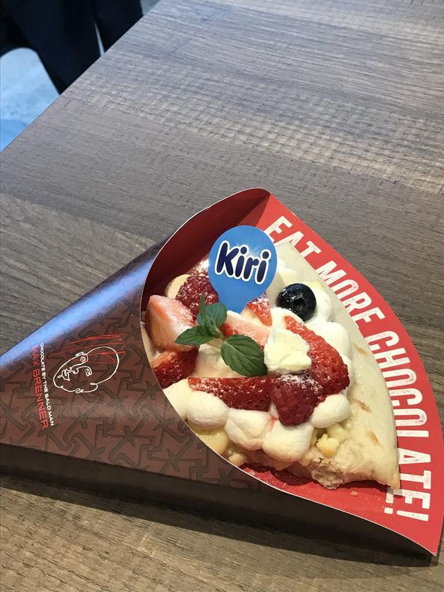 画像: 「ベリーベリークリームチーズピザ」¥550ー/1カット(税込)