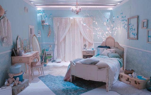 画像1: 人生で最高の瞬間を夢見る花嫁のベッドルーム