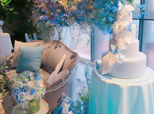 画像2: 結婚式を翌日に控えた花嫁の''夢の世界''を表現したウエディング会場