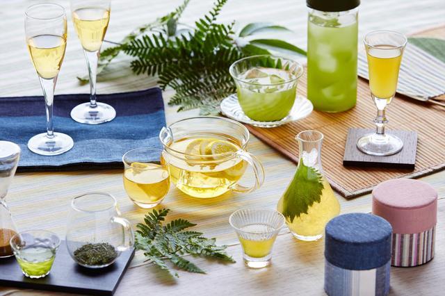 画像1: 【界 遠州】7種の煎茶で涼を取り込む「七冷茶(ななれいちゃ)滞在」