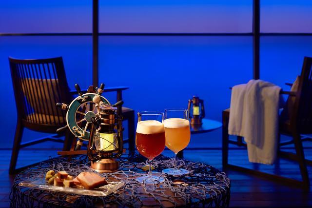 画像2: 【界 アンジン】夕暮れと海風に包まれる贅沢な夕涼み「サンセットビアデッキ」